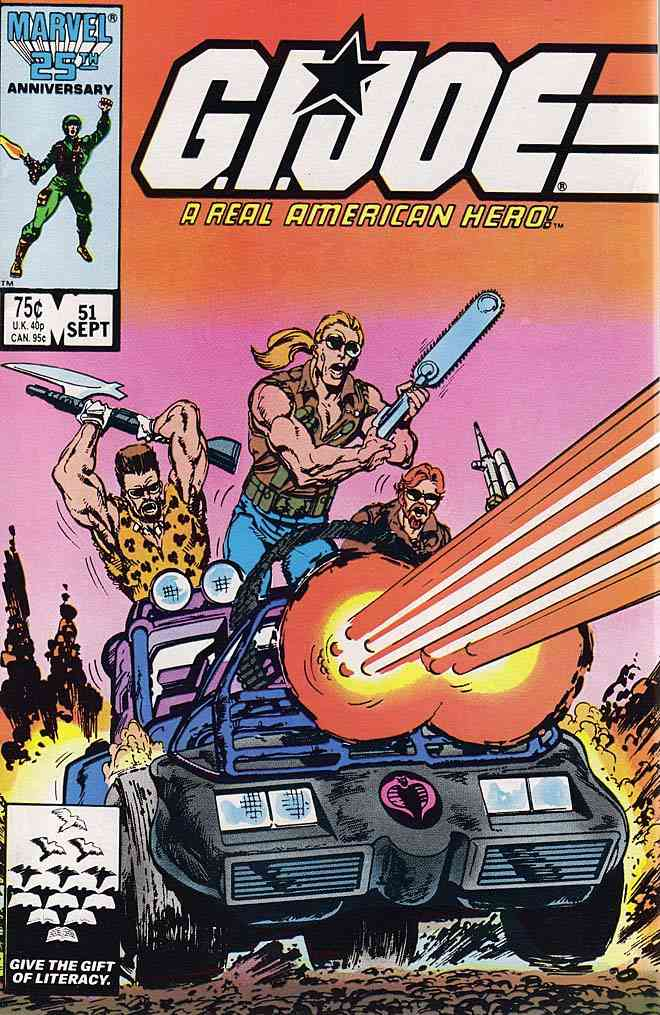 G.I. Joe, a Real American Hero comic issue 51